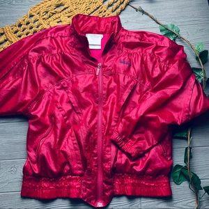 💕 vintage Adidas pink satin bomber jacket 💕